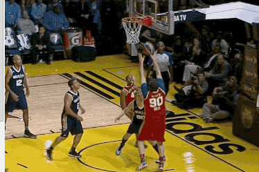 Mike Golic Misses Layup in Hilarious Fashion at NBA Celebrity All-Star Game