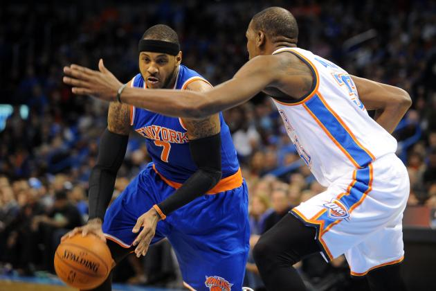 Kevin Durant Calls Kobe Bryant, Carmelo Anthony Toughest Covers