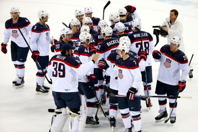 USA vs. Russia: Key Storylines in 2014 Winter Olympics Group Stage Clash