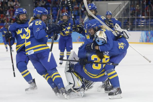 Finland vs. Sweden Women's Hockey: Score, Recap from 2014 Olympics Quarterfinal