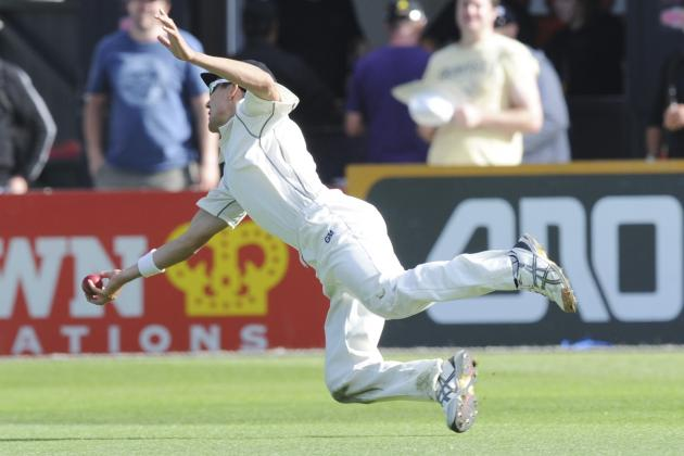 Trent Boult Takes Breathtaking Catch to Remove Ajinkya Rahane on 118 in Test
