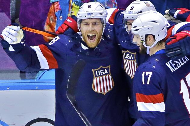 USA vs. Russia Olympic Hockey 2014: Live Score, Highlights and Reaction