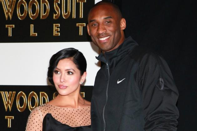 Kobe Shows How He Celebrated Valentine's Day