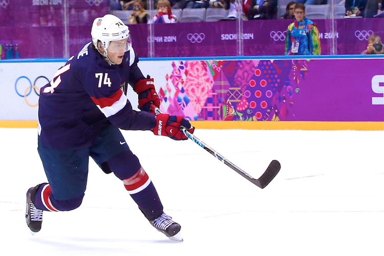 T.J. Oshie's 4 Shootout Goals Put Team USA over Russia 3-2