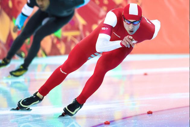 Olympic Speedskating 2014: Men's 1,500-Meter Results, Medal Winners and Times