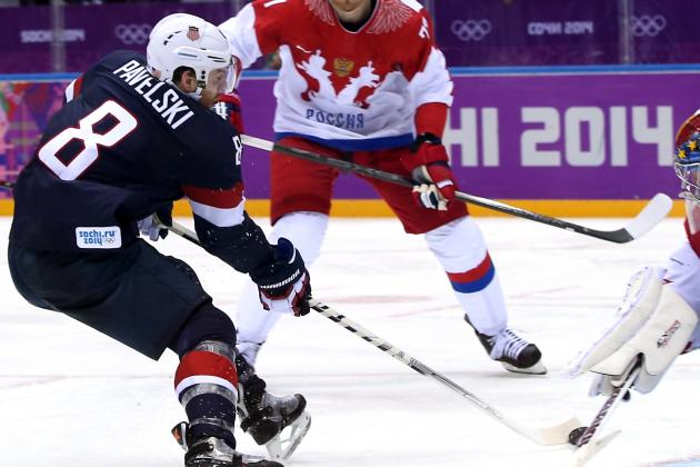 Pavelski's First Olympic Goal Helps USA to Win
