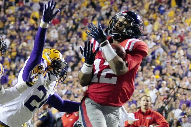 Donte Moncrief NFL Draft 2014: Highlights, Scouting Report for Colts WR