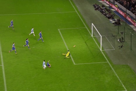 GIF: Stevan Jovetic Strikes to Give Manchester City Early Advantage on Chelsea