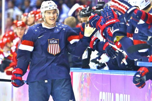 TJ Oshie the New American Hero After Thrilling Olympic Hockey Win over Russia