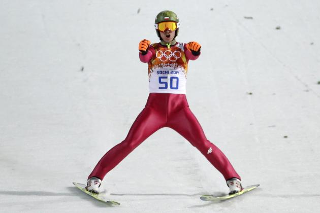 Olympic Ski Jumping 2014: Men's Large Hill Medal Winners and Results