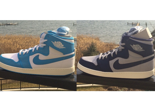 Rip Hamilton Unveils Georgetown and UNC Air Jordan 1 KOs