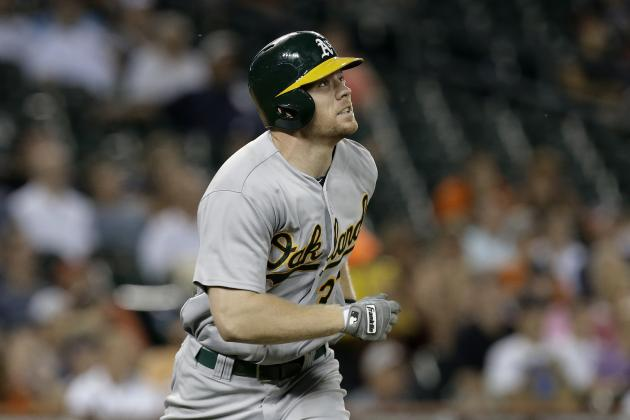 Oakland Athletics Slugger Brandon Moss Projects to Maintain Power