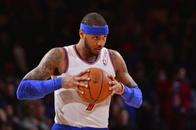 New York Knicks Making Wrong Move by Not Trading Carmelo Anthony