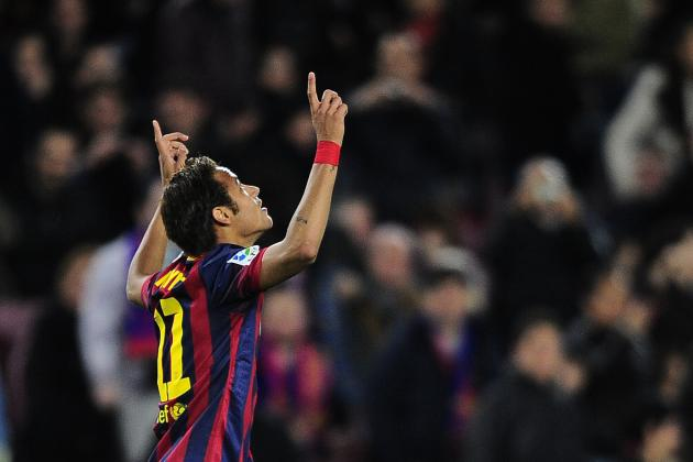 GIF: Neymar Marks Injury Return with Golazo for Barcelona Against Rayo Vallecano