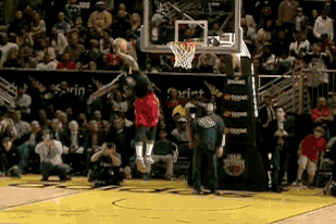 Tony Mitchell Dunks off Pass from the Crowd During NBA D-League Dunk Contest