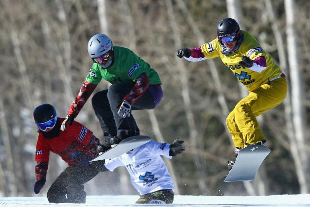 Olympic Snowboarding 2014: Schedule, TV Info, Medal Predictions for Day 9