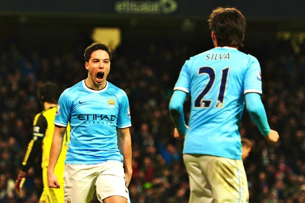 Manuel Pellegrini Lands One on Jose Mourinho as Man City Stay in Quadruple Hunt