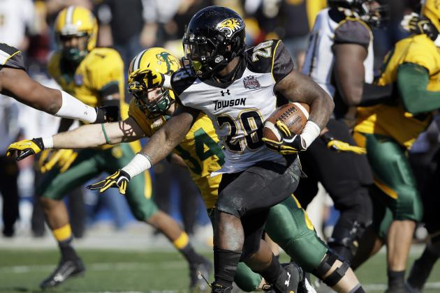 Terrance West Scouting Report: NFL Outlook for Towson RB