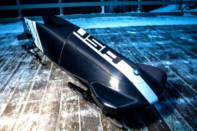 Inside the BMW Bobsled Batmobile: Why America Is Betting on Gold in Sochi