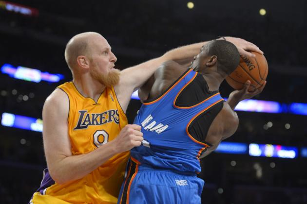Why Los Angeles Lakers Must Elevate Chris Kaman to a Starting Role