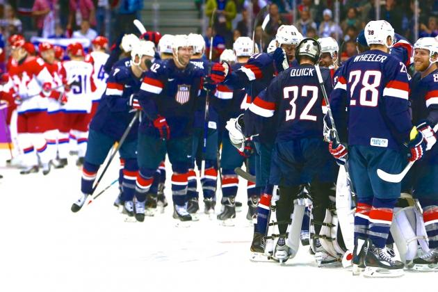 USA Win over Russia: Great Olympic Hockey Game but No Miracle