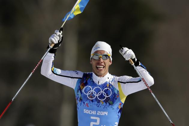 Cross-Country Skiing Medal Results, Times from Olympics 2014 Men's 4x10km Relay