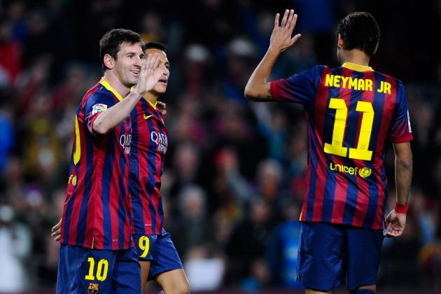 Neymar, Messi, Bale and Ronaldo Watch: Barca Pair Send Out Man City Warning