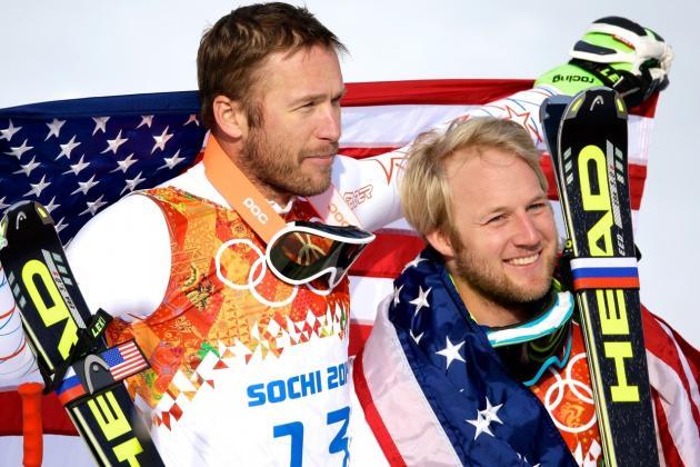 Bode Miller, Andrew Weibrecht Rescue US Alpine Skiing with Super-G Medals