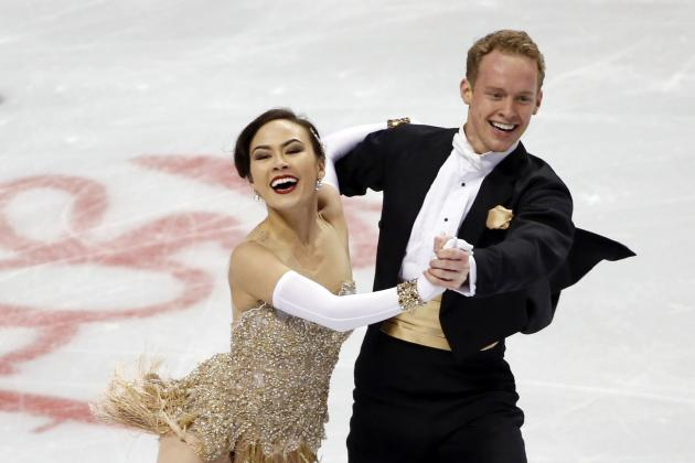 Madison Chock and Evan Bates Fail to Medal in Olympic Ice Dancing
