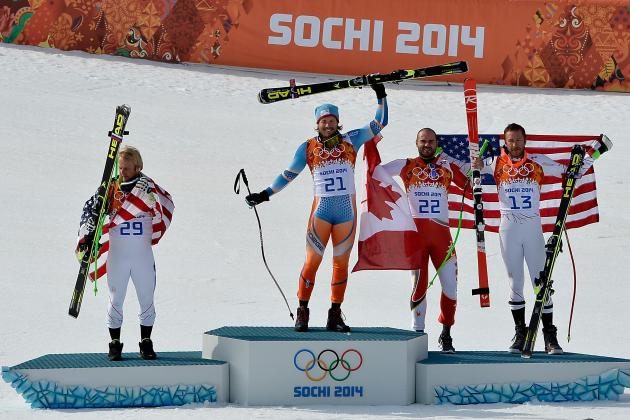 US Alpine Skiing Team 2014: Remaining Chances to Claim Gold in Winter Olympics