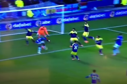 Watch: Lacina Traore Marks Everton Debut with Cheeky Backheel Goal in FA Cup