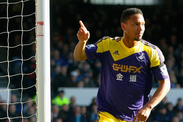 Watch: Jonathan De Guzman Celebrates Swansea Goal by 'Moving Like Bernie' Dance