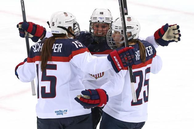 Olympic Hockey Schedule 2014: TV and Live Stream Info for Day 10