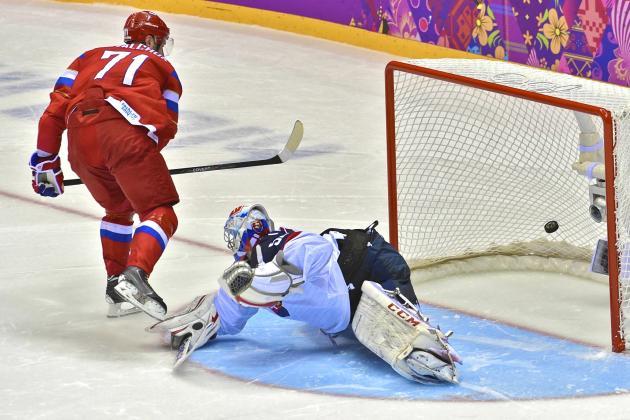 Russia vs. Slovakia: Score and Recap from 2014 Winter Olympics