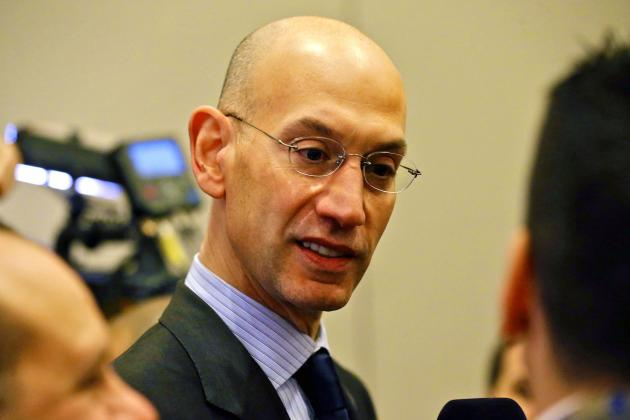 Adam Silver Says NBA Jerseys Will Eventually Have Advertising