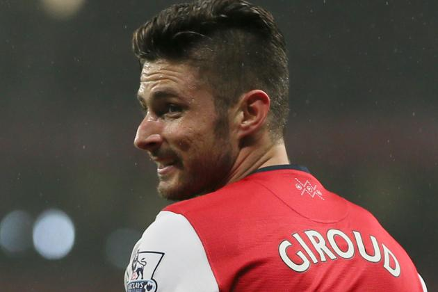 Olivier Giroud's Apology: Twitter Reacts to Arsenal Man's Message to Wife, Club