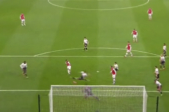 GIF: Alex Oxlade-Chamberlain Scores for Arsenal vs. Liverpool in FA Cup