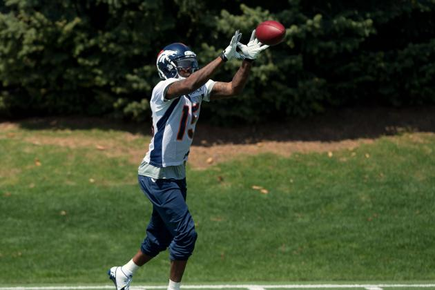 Broncos Roster Breakdown: Wide Receivers