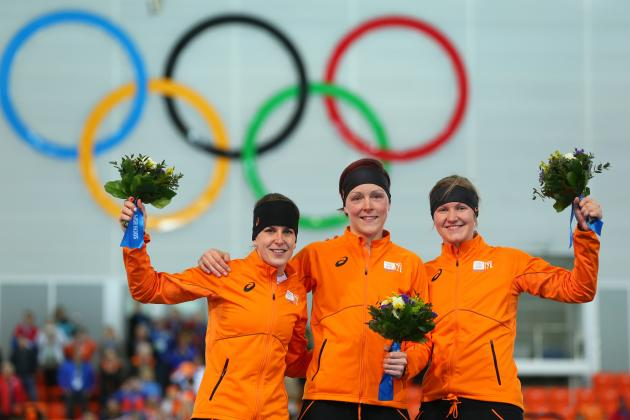 Olympic Medal Count 2014: Day 9 Results and Medal Tally Standings from Sochi