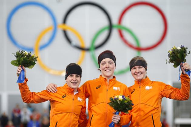 Sochi 2014: Dominant Dutch Speedskating Makes More History with Another Sweep