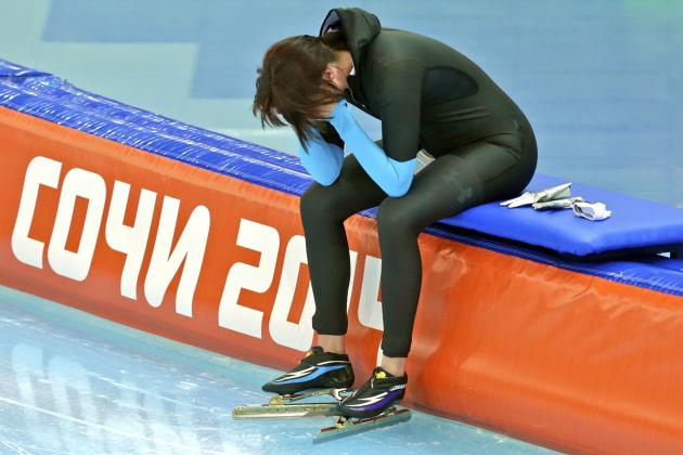Heather Richardson Fails to Medal in Women's 1500m Final at Sochi 2014 Olympics