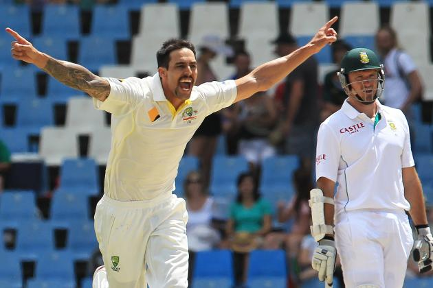 How Rival Nations Will Respond to Rise of Australia's Mitchell Johnson