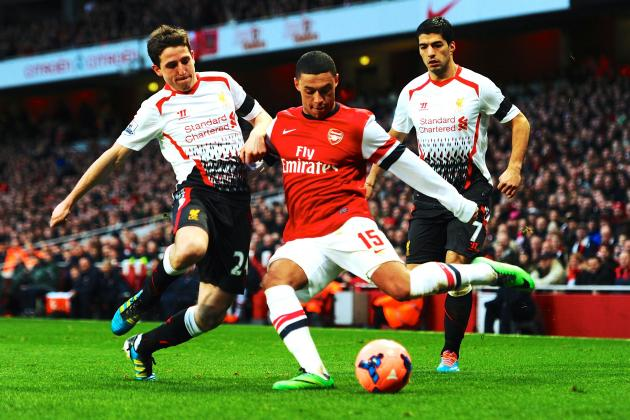 Arsenal vs. Liverpool: Alex Oxlade-Chamberlain Sends a Message to Arsene Wenger