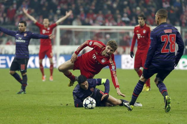 Arsenal vs. Bayern Munich: Top Storylines and Players to Watch