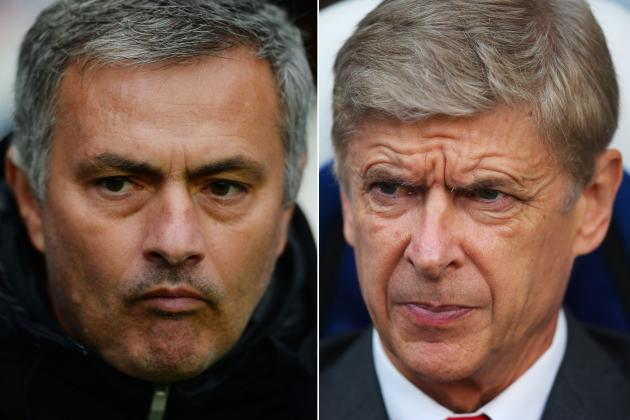 Arsene Wenger and Jose Mourinho's Rivalry Defined by Opposite Approaches