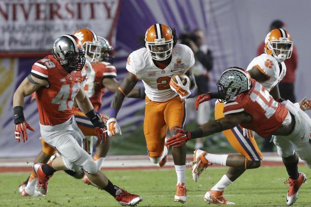 Clemson Football: Who Will Replace Sammy Watkins in Starting Lineup in 2014?