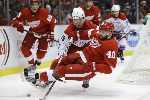 How Bleak Is Detroit Red Wings' 2013-14 Outlook with Henrik Zetterberg Out?