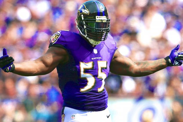 Terrell Suggs and Ravens Agree on 4-Year Contract Extension