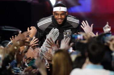 Video: 2014 NBA All-Star Introductions