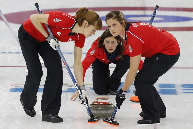Curling Men and Women's Round-Robin Results from Day 10 of Olympics 2014